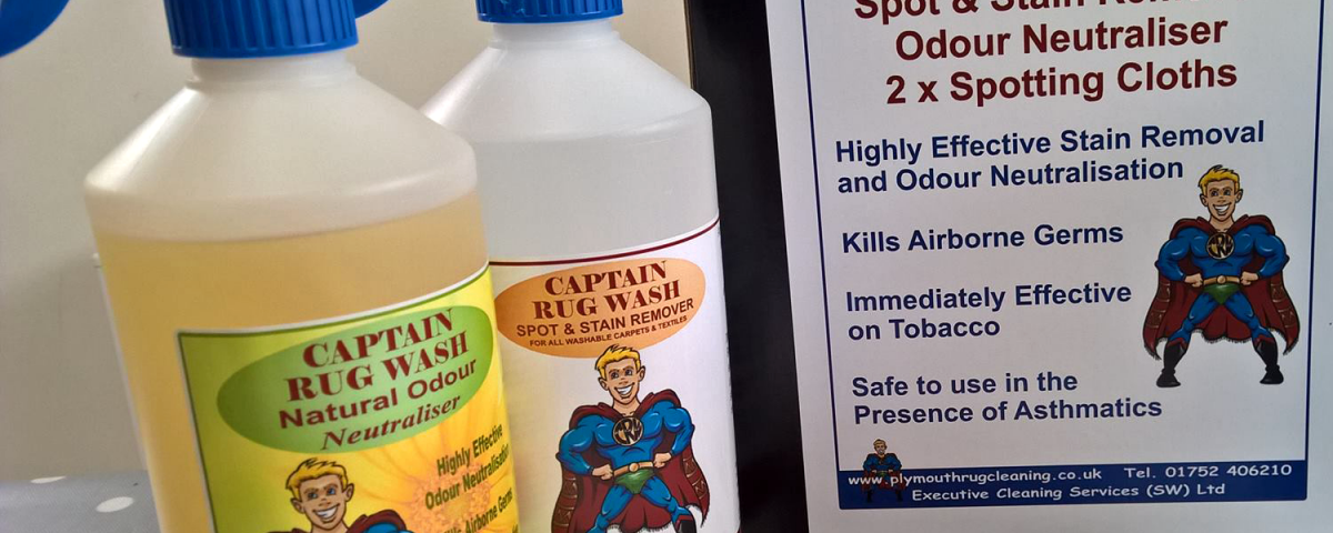 Captain Rug Wash Products