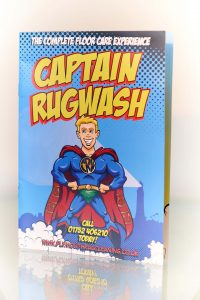Captain Rug Wash Plymouth Rug Cleaning Brochure